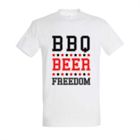 BBQ Shirt - BBQ Beer Freedom shirt